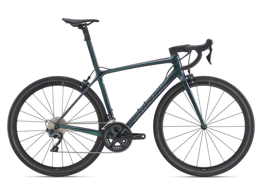 xe-dap-dua-carbon-Giant-TCR-ADV-SL-2-KOM-green