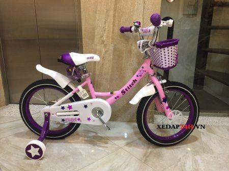 xe-dap-cho-be-gai-jk909-hong